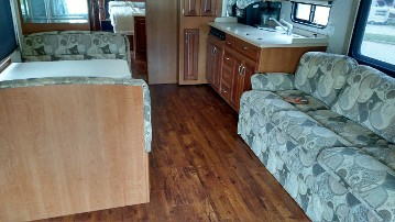RV Interior After